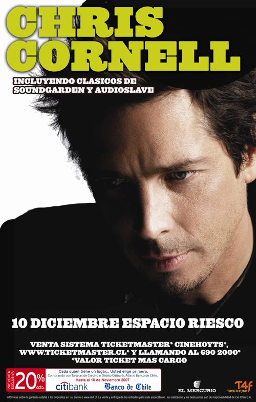 Afiche Chris Cornell