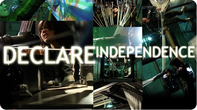 bjork declare independence