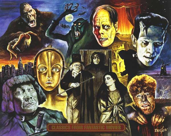 Como comenzaste con el cine de terror¿? COÑOOOO Cine-fantastico