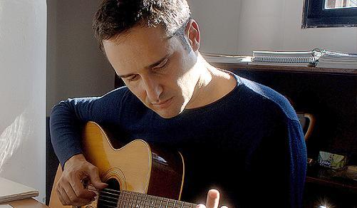 Jorge Drexler y su guitarra