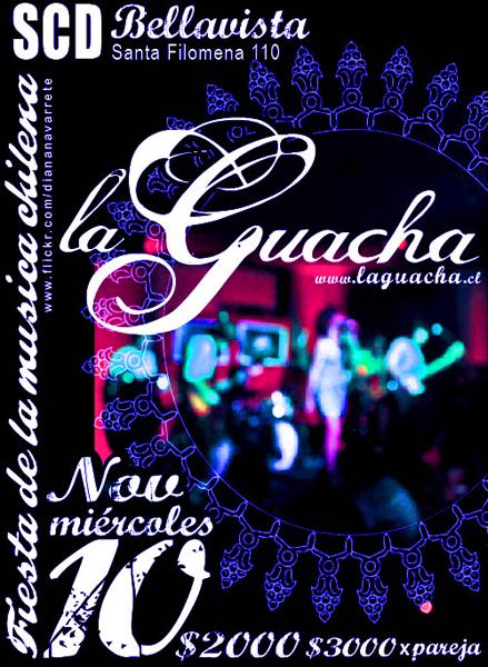La Guacha - afiche 10 de Noviembre