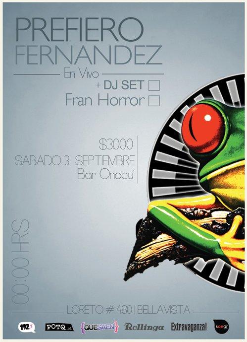 Prefiero Fernández en Onaciú el 3 de septiembre