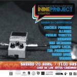 Primer festival IndieProject (afiche bandas)