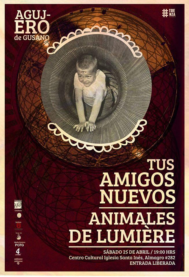 Tus Amigos Nuevos + Animales de Lumiere @ La Serena