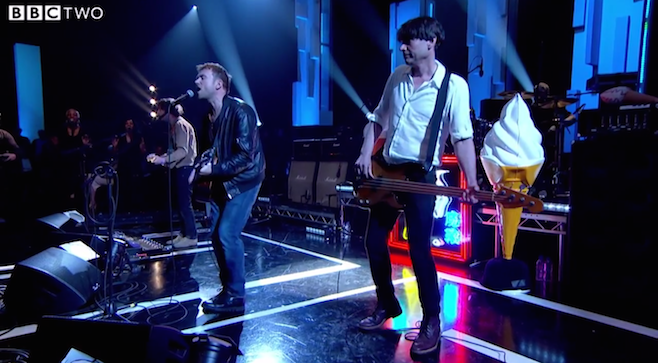 Blur en Jools Holland