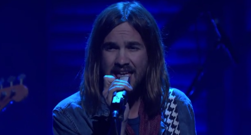 Tame Impala Live on Conan 2015