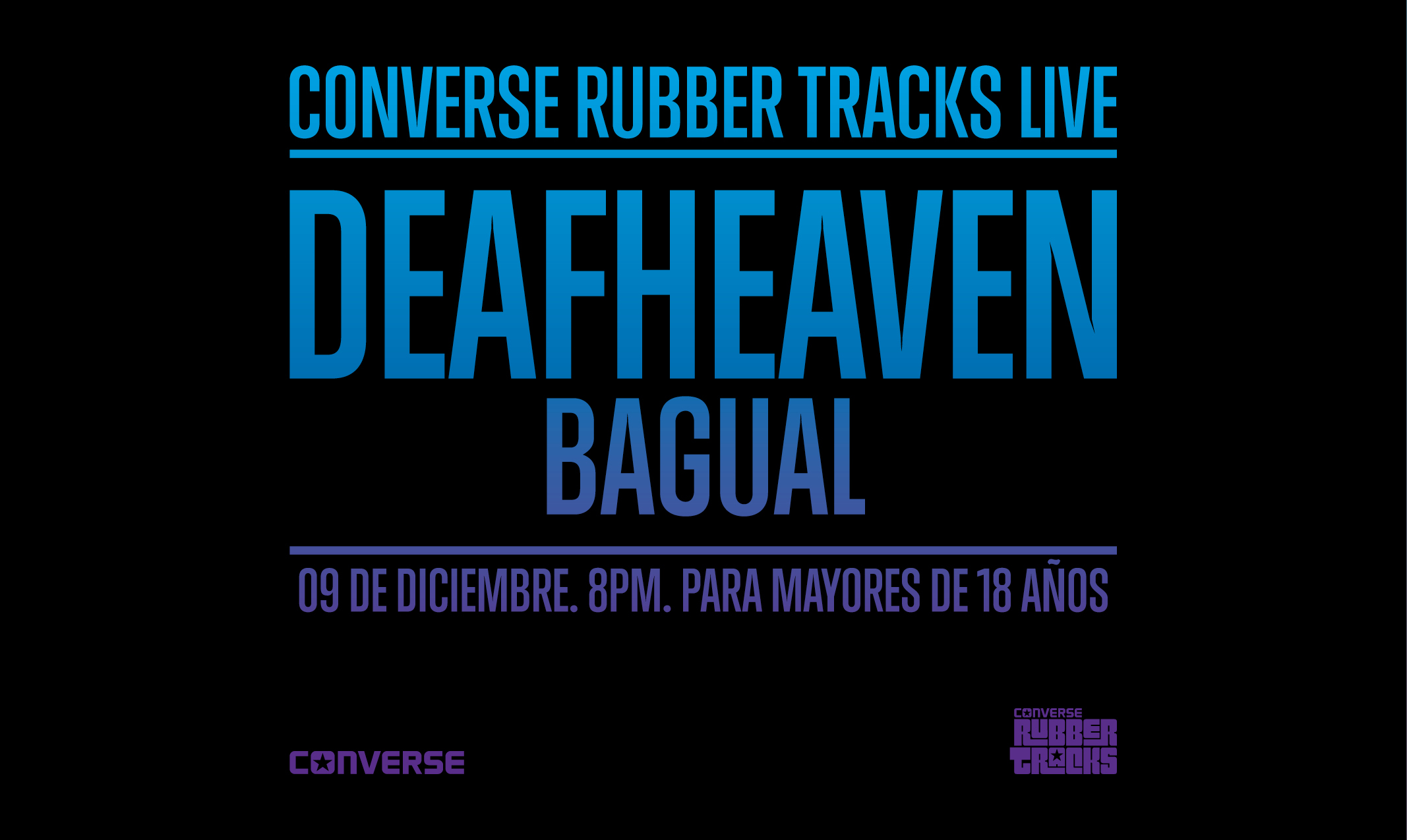 Converse Rubber Tracks Live DEAFHEAVEN