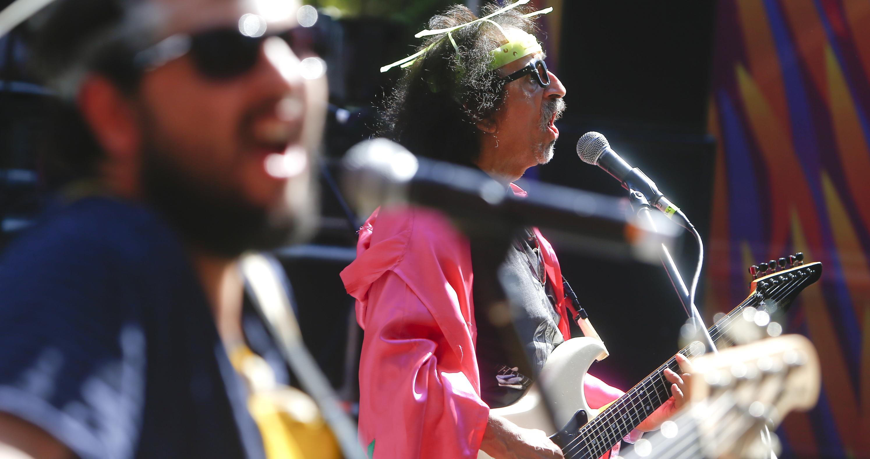 Lollapalooza 2016 Parque O´Higgins, Santiago, Chile. Escenario: Kidzapalooza Banda: Florcita Motuda (Franco Moreno/Getty Images/Lotus Producciones)