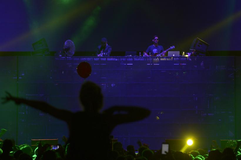 Lollapalooza 2016 Parque O´Higgins, Santiago, Chile. Escenario: Perrys Stage by VTR Banda: Gramatik (Claudio Santana/Getty Images/Lotus Producciones)