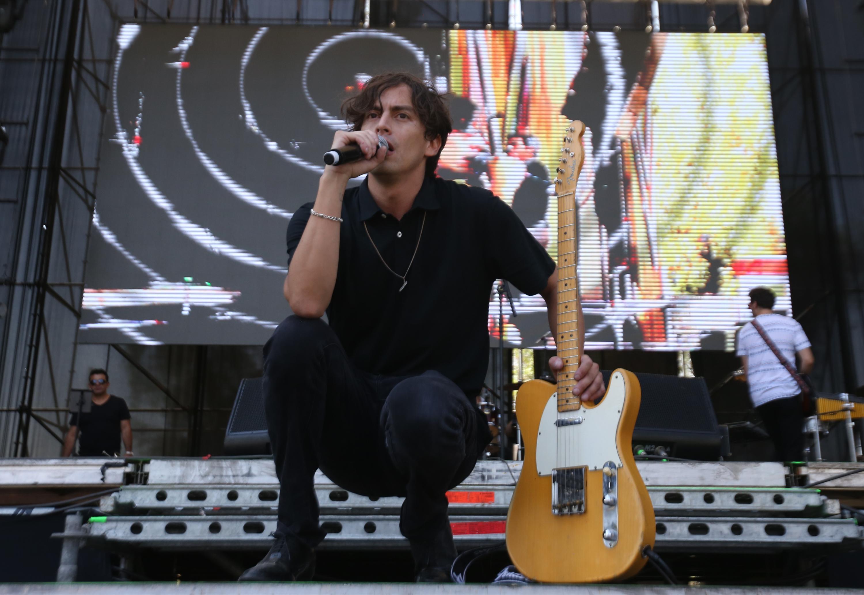 Lollapalooza 2016 Parque O´Higgins, Santiago, Chile. Escenario: Acer Windows Stage Banda: Jiminelson (Claudio Reyes/Getty Images/Lotus Producciones)
