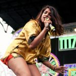 CHICAGO, IL - JULY 21:  M.I.A. performs onstage during the 2013 Pitchfork Music Festival at Union Park on July 21, 2013 in Chicago, Illinois.  (Photo by Roger Kisby/Getty Images)