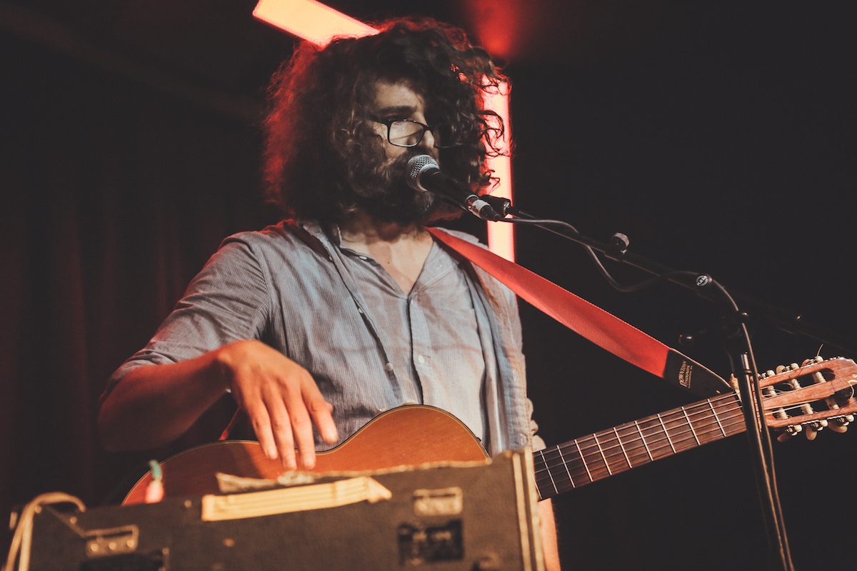 Lou Barlow - Hoxton Bar & Kitchen, London 05/10/15 | Photo by Sara Amroussi-Gilissen