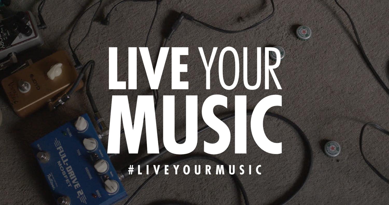 Portada Live Your Music