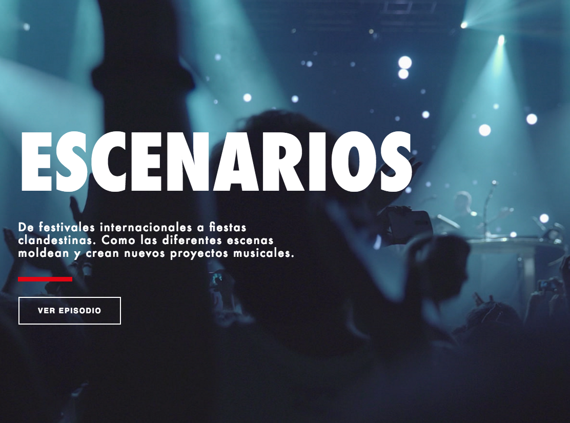 Live Your Music Escenarios