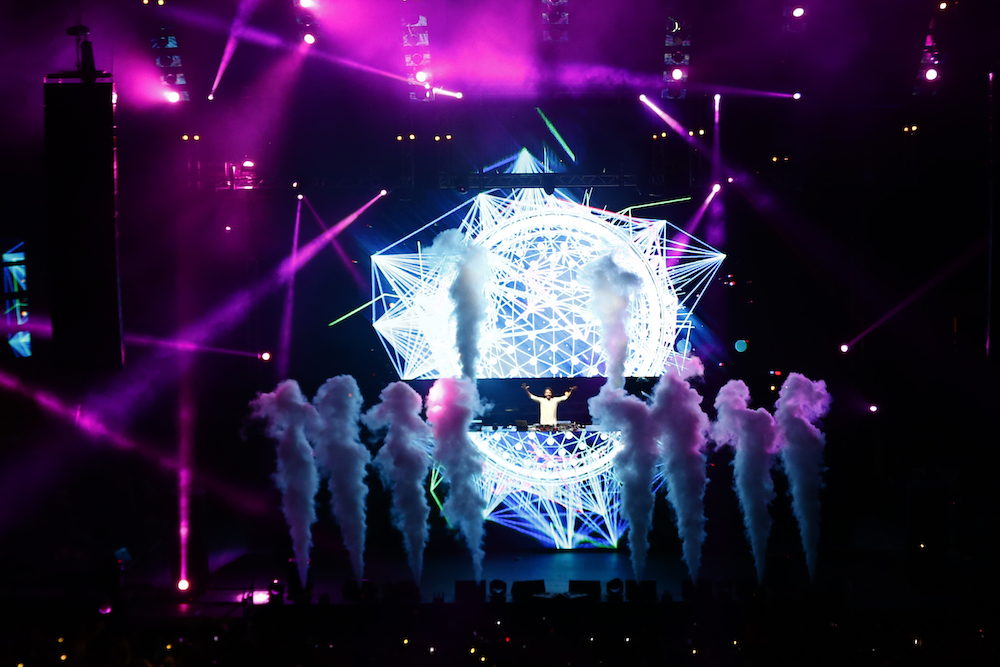 Lollapalooza 2016 Parque O´Higgins, Santiago, Chile.  Zedd Perry´s Stage by VTR  (Gabriel Rossi/Getty Images/Lotus Producciones)