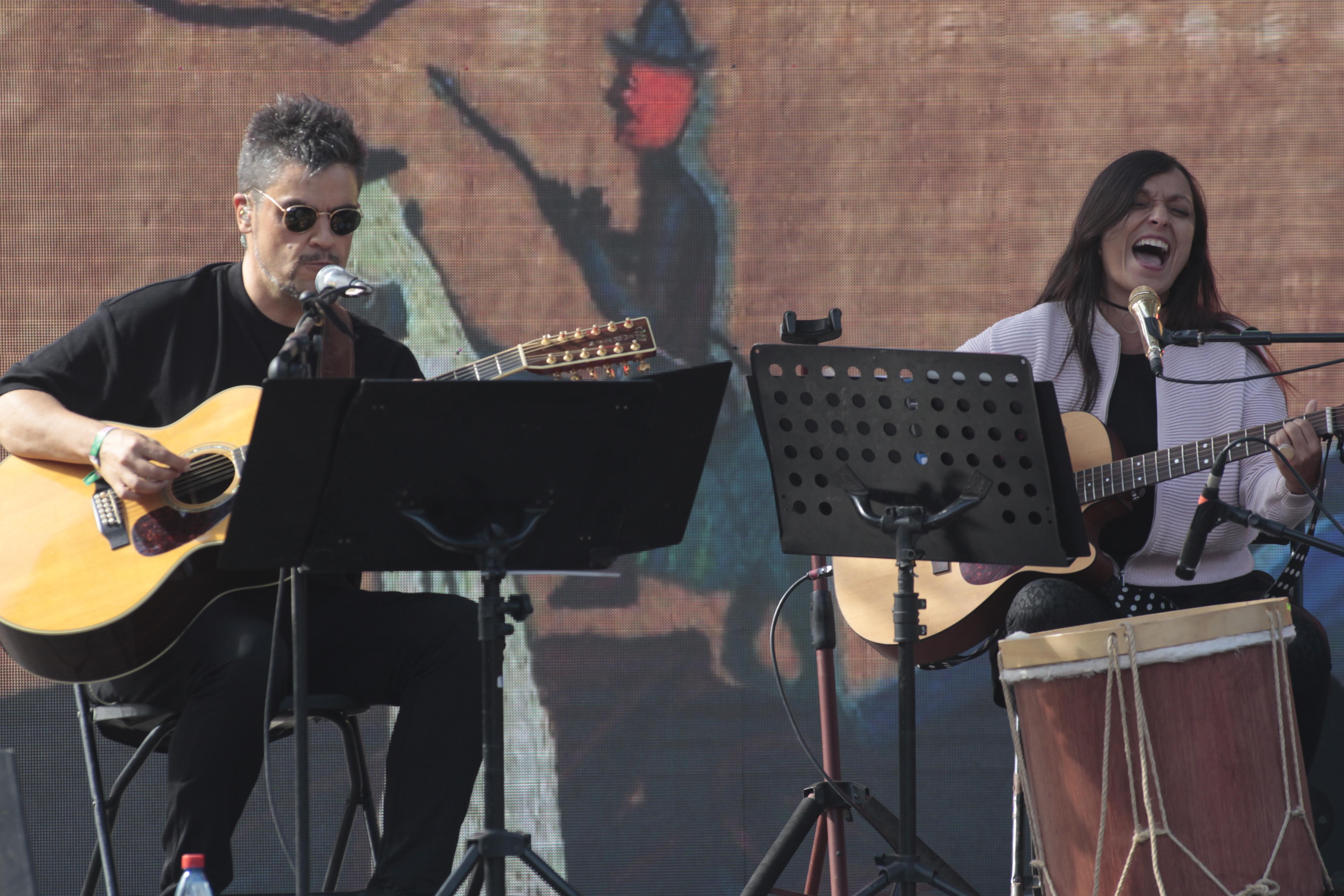 Javiera y Angel Parra Lollapalooza Chile 2017 Parque O'Higgins / Santiago / Chile Foto por Marcelo Hernandez