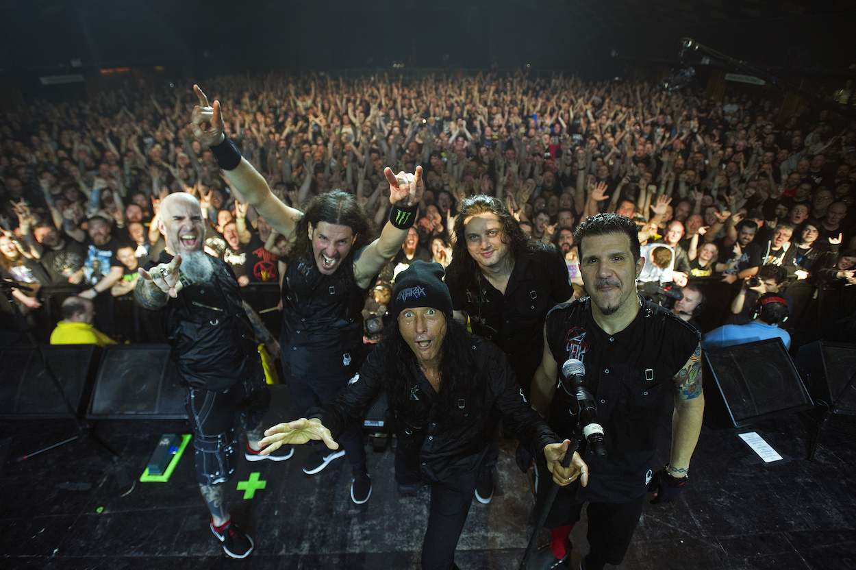 Anthrax 14feb17  Barrowland Ballroom, Glasgow   15/2/17  Picture © Andy Buchanan 2017
