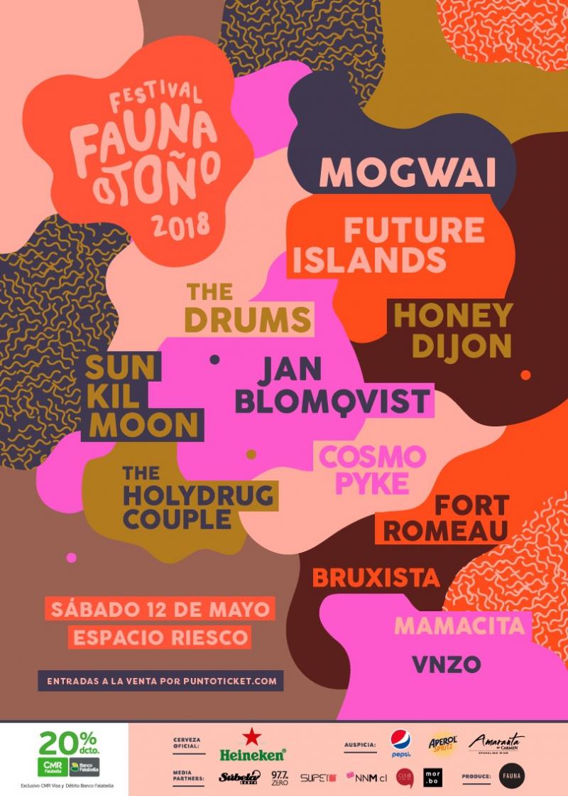 Fauna Otoño 2018 lanza cartel completo de artistas