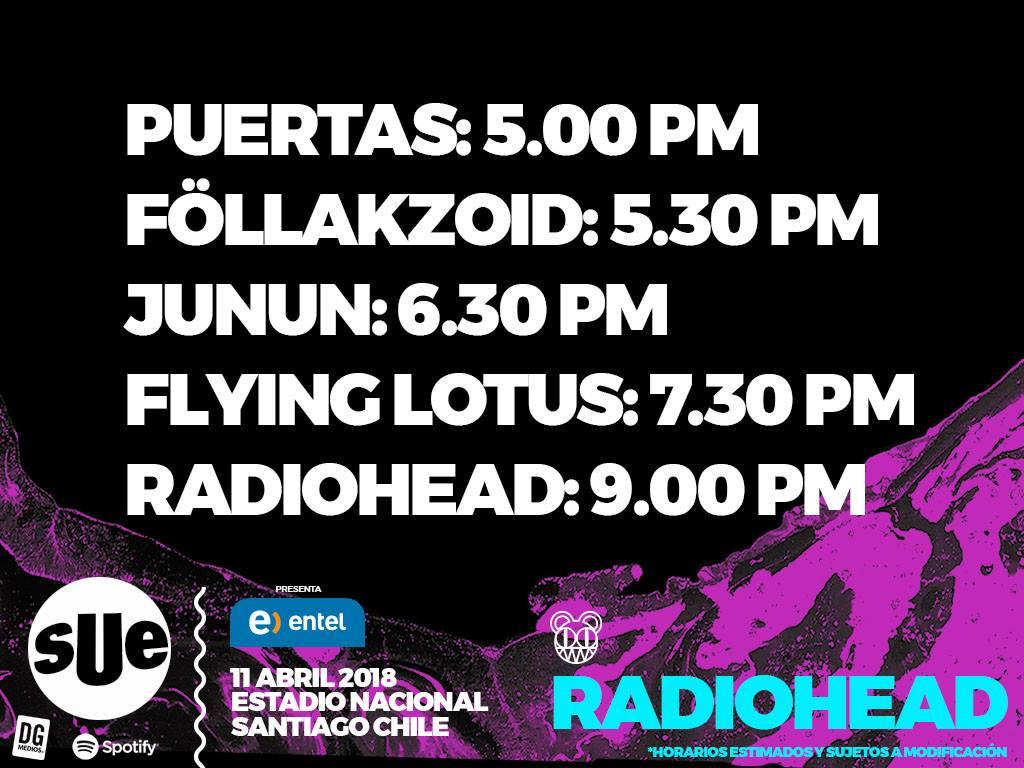 Transmitirán concierto de Radiohead vía streaming