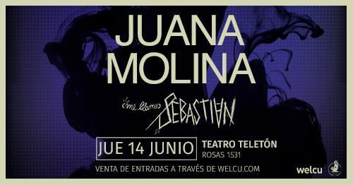 Juana Molina vuelve a nuestro país