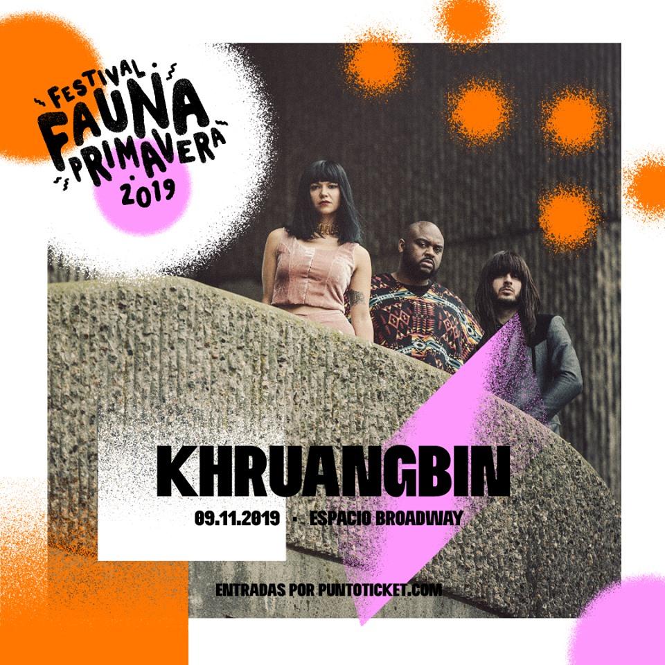 Khruangbin llega a Fauna Primavera 2019