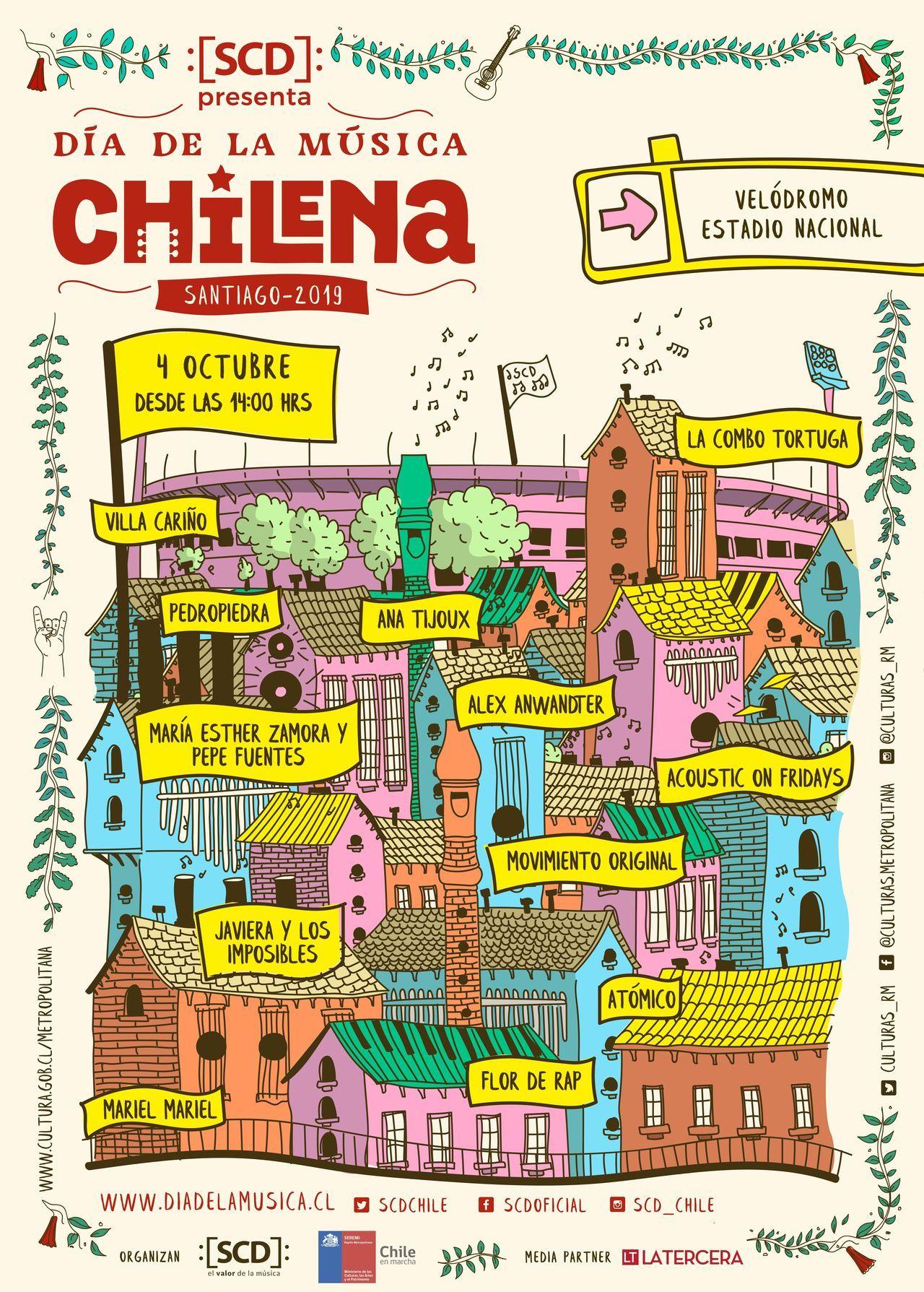 Día de la Música Chilena 2019 ya tiene fecha y lugar