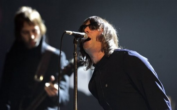Liam Gallagher en vivo