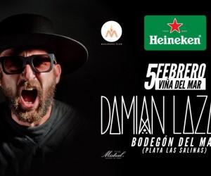 Te invitamos a Damian Lazarus este 5 de febrero