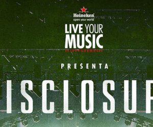 #LiveYourMusic: POTQ Magazine y Heineken te invitan al show de Disclosure (cerrado)