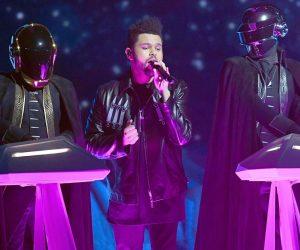 Daft Punk vuelve a los escenarios junto a The Weeknd en los Grammys 2017