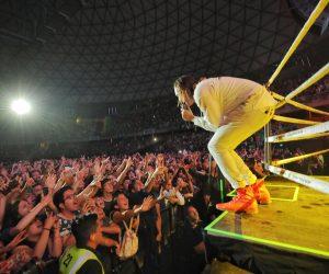 Tutorial: cómo armar una fiesta con Arcade Fire desde un ring de box