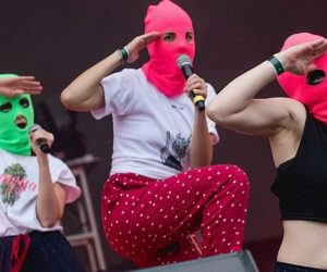 Straight Outta Vagina: Pussy Riot debuta en Chile
